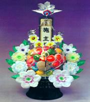 ファミリーホール高津の供物、果物16,200円