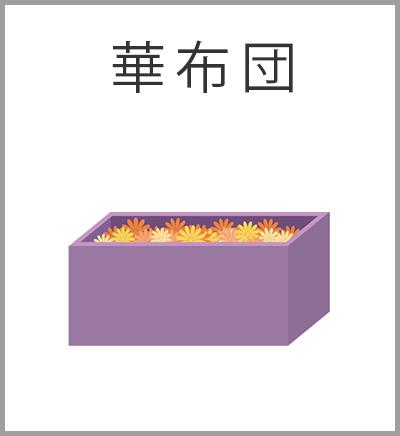 ファミリーホール高津、華布団火葬プラン・華布団