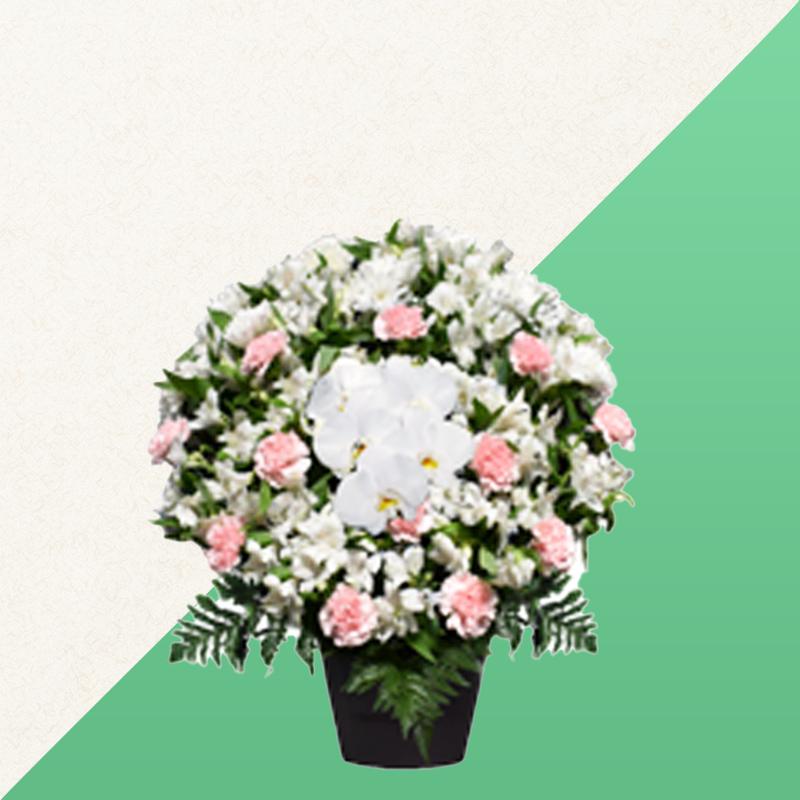 ファミリーホール高津の供花、洋花 16,500円